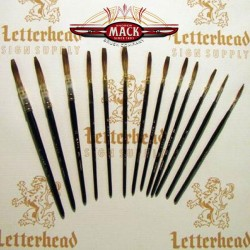 Quill Lettering Brushes Grey series 189L