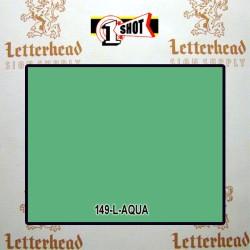 1 Shot Lettering Enamel Paint Aqua 149L - 1/4 Pint