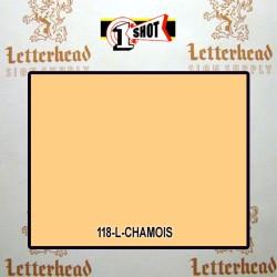 1 Shot Lettering Enamel Paint Chamois 118L - 1/4 Pint