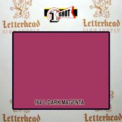 1 Shot Lettering Enamel Paint Dark Magenta 164L - 1/4 Pint