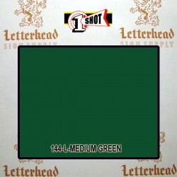 1 Shot Lettering Enamel Paint Medium Green 144L - 1/4 Pint