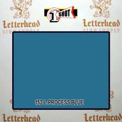 1 Shot Lettering Enamel Paint Process Blue 153L - 1/4 Pint