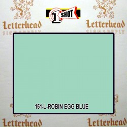 1 Shot Lettering Enamel Paint Robin Egg Blue 151L - 1/4 Pint