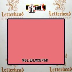 1 Shot Lettering Enamel Paint Salmon Pink 168L - 1/4 Pint