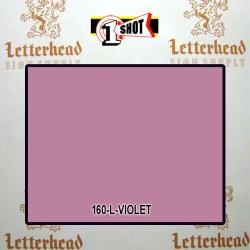 1 Shot Lettering Enamel Paint Violet 160L - 1/4 Pint