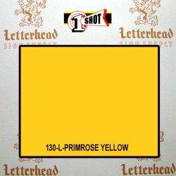 1 Shot Lettering Enamel Paint Primrose Yellow 130L - 1/2 Pint