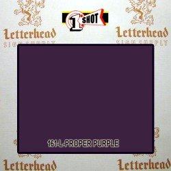 1 Shot Lettering Enamel Paint Proper Purple 161L - 1/4 Pint