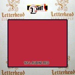 1 Shot Lettering Enamel Paint Rubine Red 165L- 1/4 Pint
